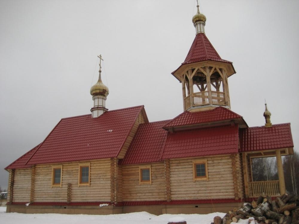 Храм Новомученников п.Галицы