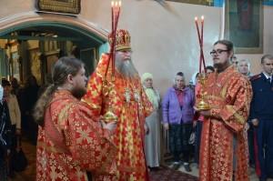 Служба в Казанском храме с Нилом