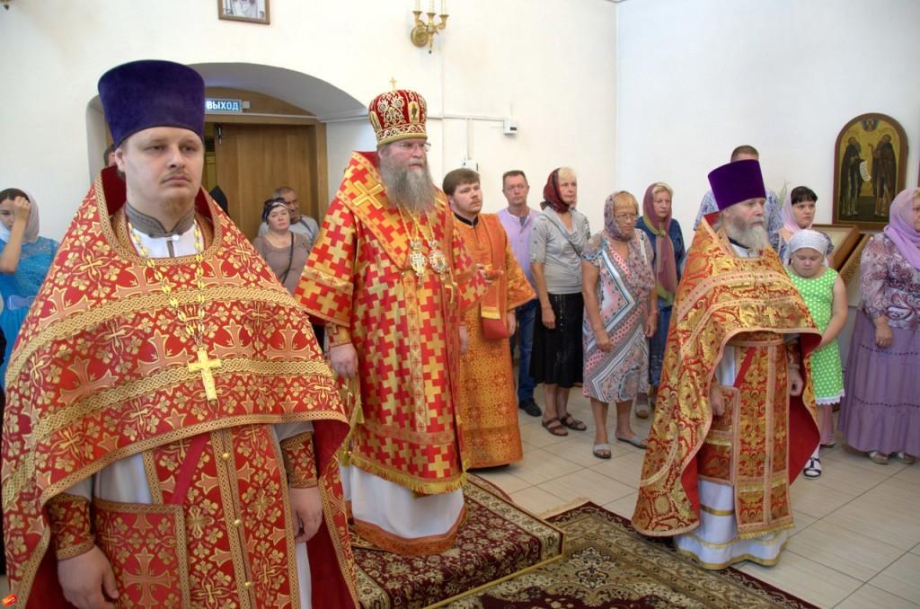 служба свято знаменский